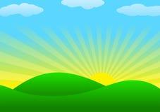 Fondo con el sol