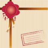 Fondo con envío Foto de archivo libre de regalías