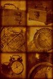 Fondo con estilo artístico de la vendimia Imagen de archivo libre de regalías