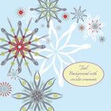 Fondo con i fiori dagli strumenti royalty illustrazione gratis