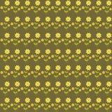 Fondo con i fiori svegli Immagini Stock