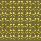 Fondo con i fiori svegli Immagini Stock Libere da Diritti