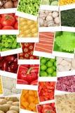 Fondo con i pomodori, paprik delle verdure del vegetariano e del vegano Fotografia Stock
