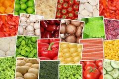 Fondo con i pomodori, paprik delle verdure del vegetariano e del vegano Immagini Stock