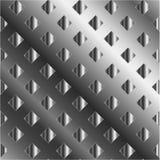 Fondo con i quadrati d'argento Fotografia Stock
