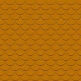 Fondo con il modello delle mattonelle di tetto nel colore marrone Fotografie Stock Libere da Diritti
