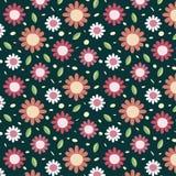 Fondo con il modello floreale rosa royalty illustrazione gratis