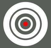 Fondo con l'obiettivo, reticolo, simbolo del crosshair Icona per la FOCA Immagini Stock