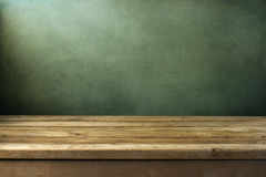 Fondo con la cubierta de madera Fotografía de archivo