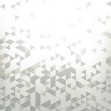 Fondo con la geometría abstracta, triángulo Imagen de archivo