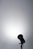 Fondo con la lampada di illuminazione Fotografia Stock Libera da Diritti