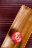 Fondo con la mela Fotografia Stock Libera da Diritti