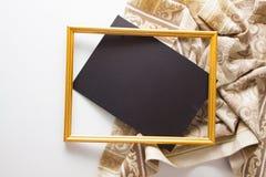 Fondo con la pañería beige Imagen de archivo libre de regalías