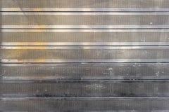 Fondo con la pared de acero punteada Fotografía de archivo libre de regalías