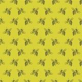 Fondo con las abejas Imagen de archivo libre de regalías