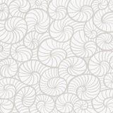 Fondo con las conchas marinas ilustración del vector