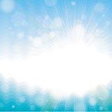 Fondo con las correcciones solares Foto de archivo libre de regalías