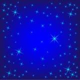 Fondo con las estrellas Fotografía de archivo libre de regalías