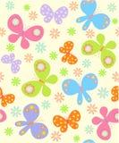 Fondo con las mariposas Foto de archivo libre de regalías
