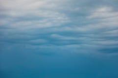 Fondo con las nubes Fotografía de archivo
