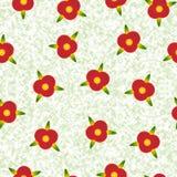 Fondo con las pequeñas flores Fotografía de archivo libre de regalías