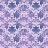 Fondo con las ramas violetas ilustración del vector