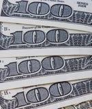 Fondo con le banconote in dollari dei soldi Fotografia Stock Libera da Diritti