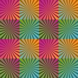 Fondo con le bande e colori luminosi Immagini Stock Libere da Diritti