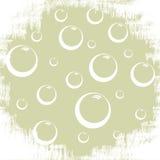 Fondo con le bolle Fotografie Stock