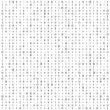 Fondo con le cifre sullo schermo Codice binario zero un fondo di bianco della matrice insegna, modello, carta da parati Estratto royalty illustrazione gratis
