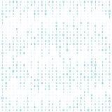 Fondo con le cifre sullo schermo Codice binario zero un fondo di bianco della matrice insegna, modello, carta da parati Estratto illustrazione vettoriale