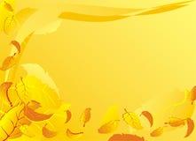 Fondo con le foglie cadenti di autunno Immagine Stock Libera da Diritti