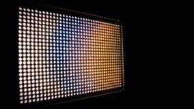Fondo con le luci brillanti del LED Immagini Stock Libere da Diritti