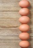 Fondo con le uova del pollo immagine stock libera da diritti