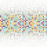 Fondo con los círculos coloreados en un vector Fotos de archivo libres de regalías
