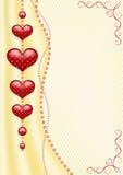 Fondo con los corazones. Fotos de archivo libres de regalías