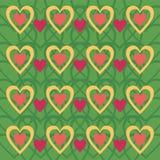 Fondo con los corazones Fotografía de archivo libre de regalías