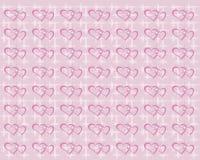 Fondo con los corazones Imagenes de archivo