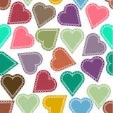 Fondo con los corazones Libre Illustration