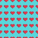 Fondo con los corazones Imagen de archivo libre de regalías