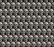 Fondo con los cráneos. Imagen de archivo libre de regalías