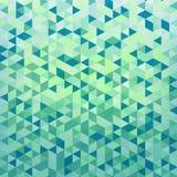 Fondo con los elementos geométricos del triángulo Fotografía de archivo