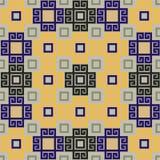 Fondo con los elementos ornamentales Ilustración del Vector