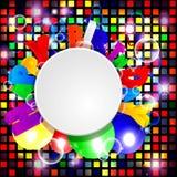 Fondo con los globos coloridos Fotografía de archivo libre de regalías