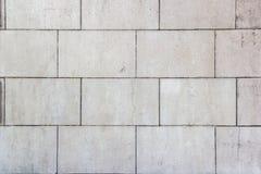 Fondo con los ladrillos concretos blancos Imagen de archivo libre de regalías