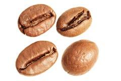 Granos de café macros Foto de archivo