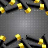 Fondo con munizioni per cercare illustrazione di stock