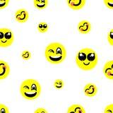 Fondo con sonrisas Imagen de archivo