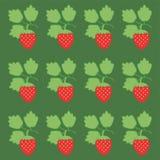 Fondo con stawberry Fotos de archivo libres de regalías