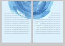 Fondo con textura de la acuarela Espray spreadings stock de ilustración